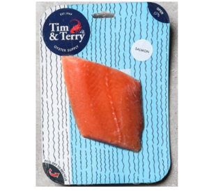 Tim & Terry Oyster Supply Salmon