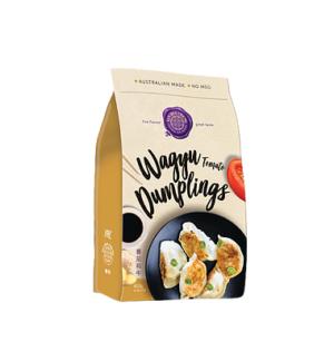 Tomato Wagyu Dumplings