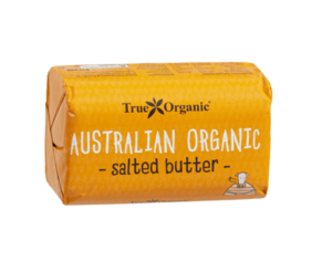 True Organic Australian Salted Butter 250g