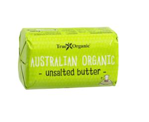 True Organic Australian Unsalted Butter 250g