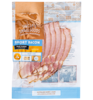 Uncle's Smallgoods Short Bacon