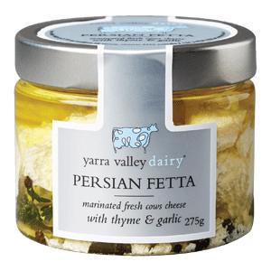 Yarra Valley Dairy Persian Fetta 275gr Devolas