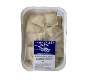 Yarra Valley Pasta Caramelised Onion, Almond & Goat's Cheese Ravioli 400g