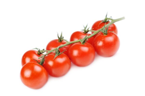 6956338 Tomatos Bunch Isolated On White
