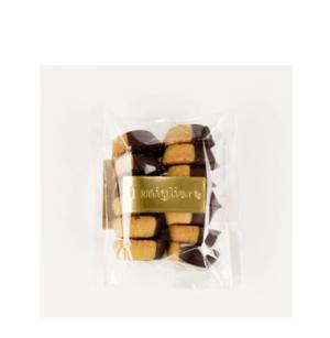 Il Migliore Chocolate Shortbread Buttons